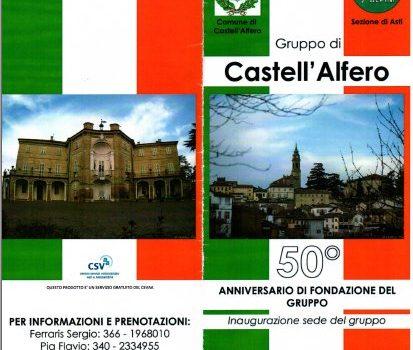 """18 Marzo  """"50° Fondazione Gruppo di Castell'Alfero"""""""