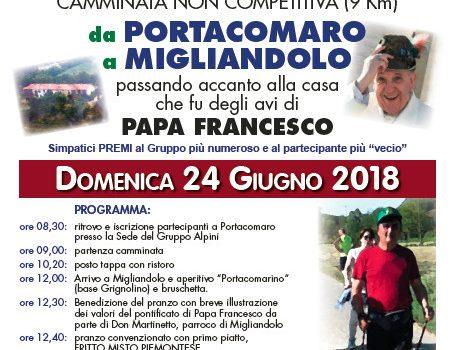 Sui sentieri dei Bergoglio