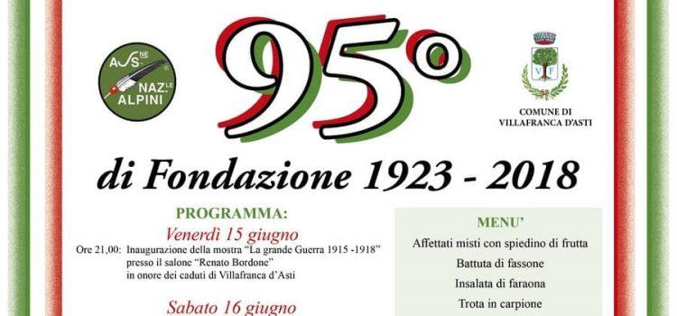 Villafranca d'Asti 95° di Fondazione