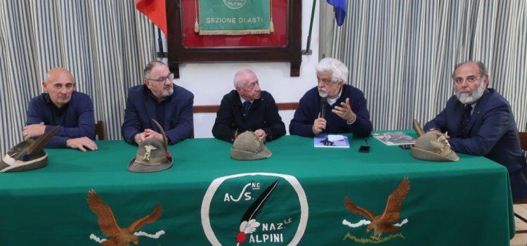 Verso il centenario ANA: Corrado Perona ad Asti per raccontare storie di Alpini