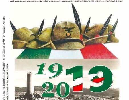 Penne Nere Astigiane anno XLVIII n. 1 Aprile 2019