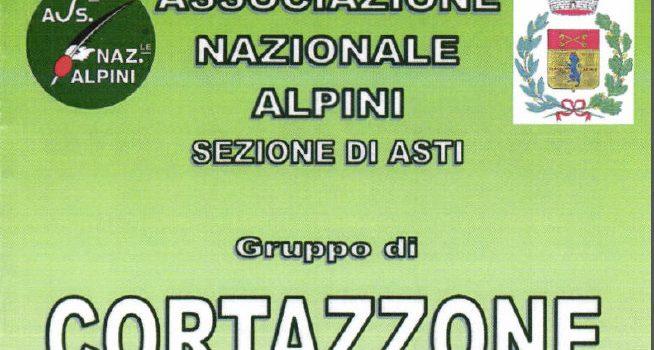 95° di Fondazione Gruppo Alpini di Cortazzone