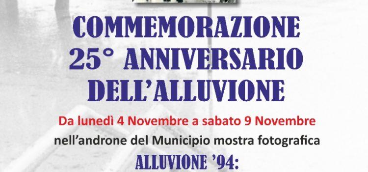 Commemorazione 25° anniversario dell'alluvione