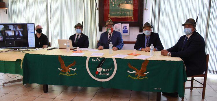 Fabrizio Pighin rieletto presidente degli Alpini